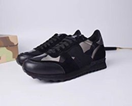 2019 i nomi dei migliori designer Nome Designer Arena Shoes Uomo Casual Sneaker Red Fashion Designer High Top Sneaker economica Black White Party Scarpe Trainer 2019136 sconti i nomi dei migliori designer