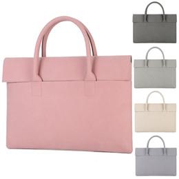 12 comprimidos Rebajas 12 13 13.3 14 15 15.4 15.6 pulgadas impermeable PU Laptop Notebook Tablet Bag Bags Case Maletín bolso para hombres mujeres