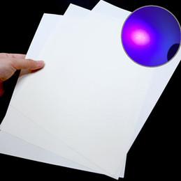 Papel blanco tamaño a4 online-Bond / Banknote CottonLinen Paper 75gsm con ácido ULTRAVIOLETA del color blanco del tamaño de la fibra A4 libremente sin ácido