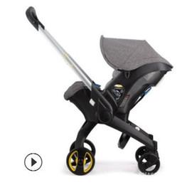 Passeggino 3 in 1 con seggiolino auto per bambini culla Alte Landscope pieghevoli Trasporto carrozzine per neonati Landscope 4 in 1 cheap baby stroller folding da passeggino bambino pieghevole fornitori