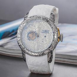 2019 montre à quartz squelette automatique vente chaude pour un homme à quitter le rivage fond transparent bleu cadran invicta montres ? partir de fabricateur