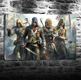 2019 assassini creed canvas Assassin's Creed, Home Decor HD Stampato Pittura di arte moderna su tela (senza cornice / con cornice) assassini creed canvas economici