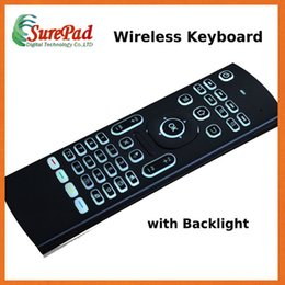Teclado Novo design MX3-L backlit voar do mouse controlador remoto 2,4 g mx3 mini teclado de Fornecedores de controle remoto fujitsu