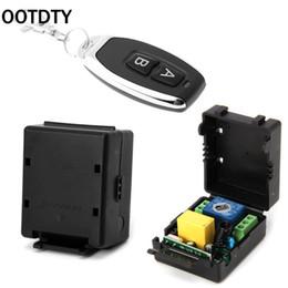 Передатчик 315 мгц онлайн-AC 220V 10A 1CH RF 315MHz Wireless Remote Control Switch Receiver + Transmitter Kit