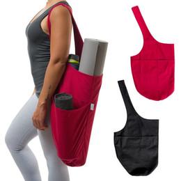 Portante online-1 pz Borsa da Yoga One-Shoulder Large Mat Holder Holder Tote Carrier Tasche con cerniera BB55