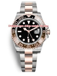 10 Estilo de alta calidad perpetuo 40 mm GMT 126715CHNR 126710 126711 116710 116713 126715 Fecha Asia 2813 Movimiento Reloj automático para hombre Relojes desde fabricantes