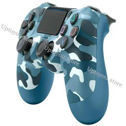 Controlador de juego de buques online-PS4 Controlador de juegos inalámbrico ps4 controlador de juegos inalámbrico bluetooth joystick gamepad PlayStation 4 joypad para videojuegos envío de la gota