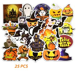 2019 calendario del libro de recuerdos 25PCS / set Feliz Halloween Navidad Scrapbook Papelería Pegatinas Planificador Calendario Agenda School Art Craft Supplies D rebajas calendario del libro de recuerdos