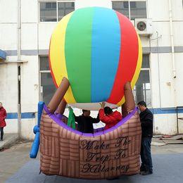 15//45pcs Fashion exquisite hot air balloon charm pendant have a romantic love