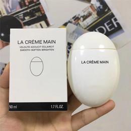LA CREME MAIN lisse adoucit éclaircit la peau soin mains crème d'oeuf à l'oie crème pour les mains 50ml J2102 ? partir de fabricateur