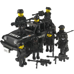 437pcs WW2 Sherman M4 Tank 7pcs Military Army Figure Soldier Lego Minifigures