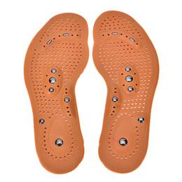 protège talon chaussure silicone Promotion Coussinets de confort Adulte Circulation Sanguine Respirant Thérapie Magnétique Solide Soins Des Pieds Chaussure Antichoc Soulagement Desodorant Douleur