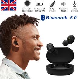 Cuffia avricolare bluetooth senza fili di sport rosso online-Millet Red Rice Sport Cuffie wireless impermeabili e anti-sudore Bluetooth 5.0 Stereo TWS senza fili