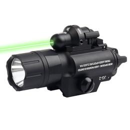 Canada Nouvelle chasse en alliage d'aluminium de haute qualité à basse température, faisceau laser vert 5mW de lampe de poche tactique CREE de 420 lumens. Offre