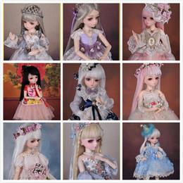 1/4 bambola BJD bambola nuda bambola 45cm adulto sesso femminile in plastica mobile, con trucco 1214 da