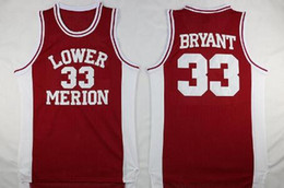 NCAA Lower Merion 33 Bryant Jersey College-Männer High School Basketball Hightower Crenshaw Gianna Maria Onore 2 Gigi Mamba Jerseys genähtes von Fabrikanten