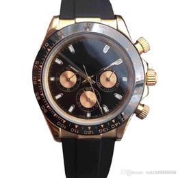 Reloj automático R12 Advanced para hombres, diámetro 40 mm, correa de caucho, anillo exterior de cerámica maciza, caja de acero inoxidable dorado, movimiento 2813 desde fabricantes