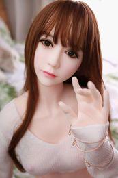 Venta caliente 165 cm (5.41 pies) Belleza japonesa Reales muñecas sexuales de silicona para hombres culo grande Vagina Anal caucho TPE mujer envío gratis desde fabricantes