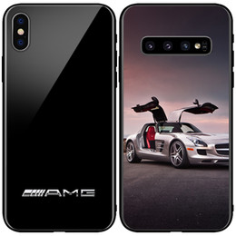 purple wines glasses Coupons - AMG Carbon Fiber Glass Phone Cover BMW Linkon Case RS for Samsung Note9 s9 s9+ s10e s10+ Iphone X XsMAX XR 7 plus
