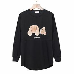 Desenhista dos homens dos homens do hoodie on-line-Palm Angels Hoodie Hip Hop Decapitado Urso Designer de Moletom Com Capuz Homens Mulheres de Alta Qualidade Mens Designer Hoodies Tamanho S-XL