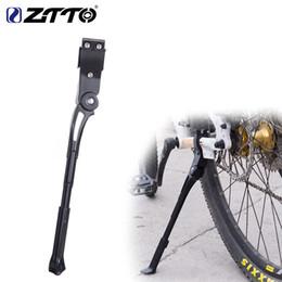 2019 béquille latérale de bicyclette Support de bicyclette réglable 26 27,5 29 Route 700c Vélo Parking Coup de pied poids léger Montagne Vélo Côté Support de Rack promotion béquille latérale de bicyclette