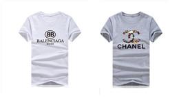 vestiti di diamanti Sconti 2019 Fashion Summer Brand Designer T Shirt Abbigliamento donna Top Paillettes con perline Diamante Stampa farfalla T-Shirt Abbigliamento uomo Taglie forti 5XL
