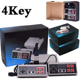 2019 consola portátil consola La videoconsola de 4key 2key Mini TV Video Game Console puede almacenar 620 500 para las videoconsolas nep con cajas de venta al por menor. rebajas consola portátil consola