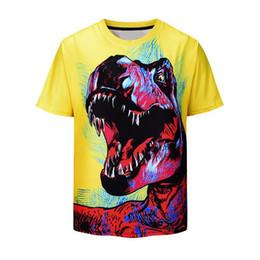 Men's Clothing 2019 New Movie Jurassic World Fallen Kingdom Dinosaur 3d Print Jacket Men/women Streetwear Boy Autumn Clothes