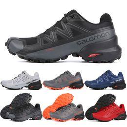scarpe da corsa impermeabili top Sconti 2019 Salomon Speedcross 5 CS uomo donna Scarpe da corsa di alta qualità mens scarpe da ginnastica impermeabile atletica scarpe da ginnastica scarpe da jogging trekking 7-11.5
