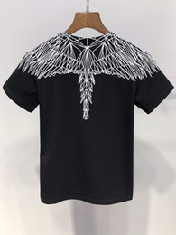 Мода New Angel Wings принт мальчик / девочка Топы Тис лето 100% хлопок Бренд Одежда Футболка от Поставщики натуральная одежда хиппи