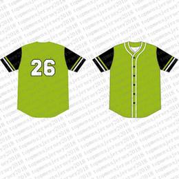 2019 jersey de béisbol de franela Top del camisetas de béisbol para hombre bordado Logos Jersey envío libre al por mayor barato Cualquier nombre de cualquier número tamaño M-XXL 17