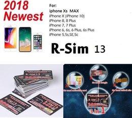 RSIM 13 R sim R-SIM SUP Nano Tarjeta de desbloqueo para iPhone XS / 8/7/6 / 6S 4G LTE IOS 11 12 desde fabricantes