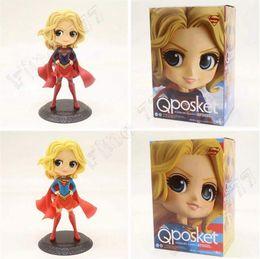 Modell spielzeug sexy online-DC-Comics QPosket reizvolle Abbildung Superwoman PVC Tätigkeits-Abbildung Qposket vorbildliche Spielwaren Kindspielwaren DHL geben Verschiffen frei