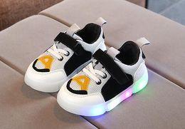 zapatos frescos para correr Rebajas Bebés, niños, niños, lindos, zapatos de destello, zapatos para niños, zapatos para correr, infantes, niños, de color multicolor, zapatos de niños frescos.