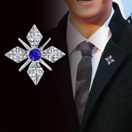 ffef3af9b50 New Rhinestone Star Silver Brooch Pin for Men and Women Suit Shirt Collar Pins  Clothing Accessories Lapel Badge Brooches Jewelry