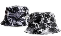 Gorra de golf de mens letter online-La más nueva manera Algodón Carta del sombrero del cubo Para mujer para hombre plegable Caps Negro Pescador Playa parasol plegable Venta Hombre Cap Bowler casquette