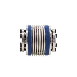 D82mm L95mm 304Steel eixo de acoplamento parafuso diafragmas acoplador fixo Dropshipping 62/80 milímetros de