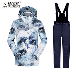 High Experience Winter Jacket Women Ski Suit Female Snowboard Jacket Pants  Thicken Thermal Winter Women s Ski Suits Snowboarding 2aba5a84d