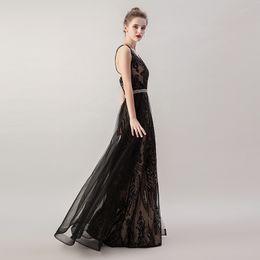 2019 черный сексуальный элегантный дешевые вечерние платья русалка блестки длинные спинки формальные партии выпускного вечера носить 5265 макси платье со съемной юбкой от