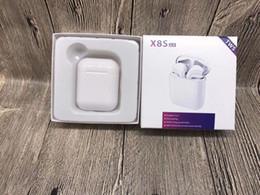 2019 nuevos auriculares de manzana X8S TWS Auriculares Bluetooth Auriculares inalámbricos Auriculares deportivos Auriculares estéreo con caja de carga Mic para iOS Android 5.0 Nuevo sellado rebajas nuevos auriculares de manzana