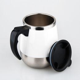 caneca da lente branca Desconto Copo de Mistura automática de Aço Inoxidável Preguiçoso Caneca Presente Criativo Homens e Mulheres Casal Copo Magnetizado Copo De Café Elétrico