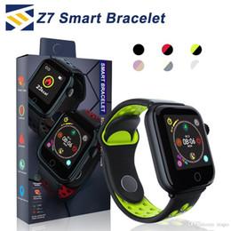2019 montre en cours d'exécution mp3 Z7 Smart Watch suivi de la forme physique fréquence cardiaque bracelet smartwatch Moniteur IP68 Étanche Étape pour Apple montre PK DZ09 ios androïde smart phone