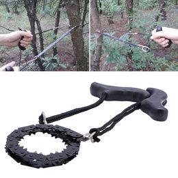 bicicleta de garfo cônico Desconto dever Carpintaria bolso Mão Chainsaw pesado Manganês Survival Wire Saw acampamento caminhada ao ar livre Hunt Fish Ferramenta cortador de madeira Floresta