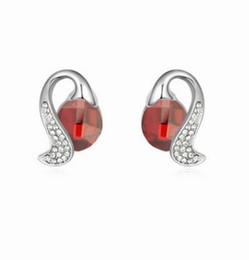 Canada merveilleuses bas prix haute qualité plus boucles d'oreilles de couleur diamant cristal femmes (33.54rtru) Offre