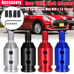 RED Mugen Neo Chrome MT Manual Gear Stick Shift Knob for HONDA FIT ACURA CIVIC