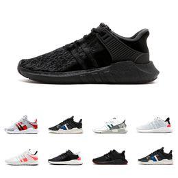 san francisco 19d61 baf7d Barato 2018 de alta calidad EQT Support Primeknit 93 Zebra Ultra mujer hombre  zapatos Ultra moda Casual zapatos tamaño 36-45 envío gratis