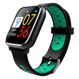 2019 счетчик импульсов часов Умный браслет Q58 цветной экран UI с измерением давления пульсометр часы поддержка шагомер монитор сна спортивный браслет дешево счетчик импульсов часов