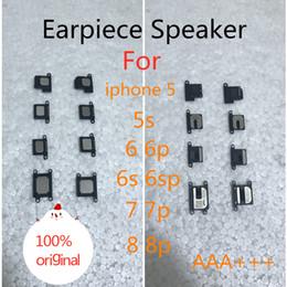 2019 bar anti statico Altoparlante auricolare per iPhone 5 5s 6p 6s 6sp 7 7p 8 8p 100% corno ricevitore originale per iphone