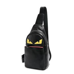 Bandolera cruzada bolsas mujer online-Venta caliente Hombres y Mujeres Bolsa de cuero Sling Cross Body Designer Messenger Bags Wallet Bolsas de cintura al aire libre Paquete Crossbody Bolsa Sling Bag FD