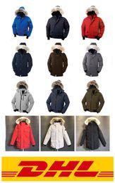Abajo parka xxl online-2020 para mujer para hombre Canadá diseñador chaquetas Ganso abrigos pato chaquetas Parka Veste Homme Hombre Mujer XS-XXL